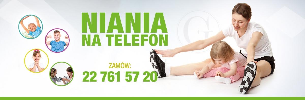 NIANIA NA TELEFON ? nowa usługa w Gravitan Junior