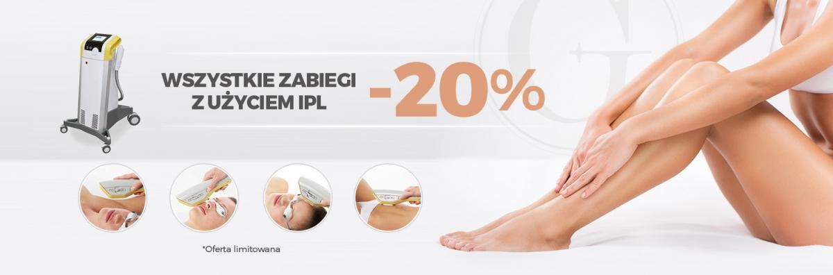 Zabiegi IPL -20%