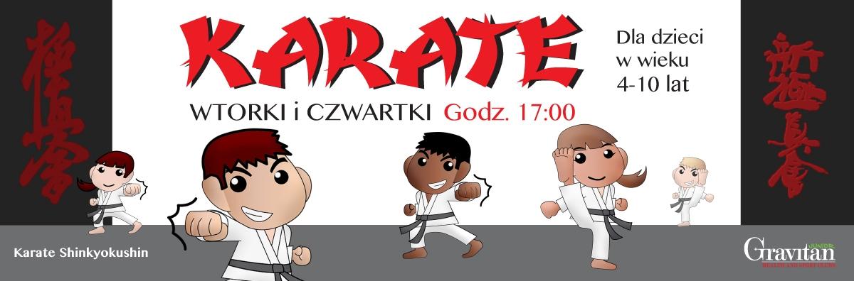 Karate - zajęcia dla dzieci w wieku 6-12 lat