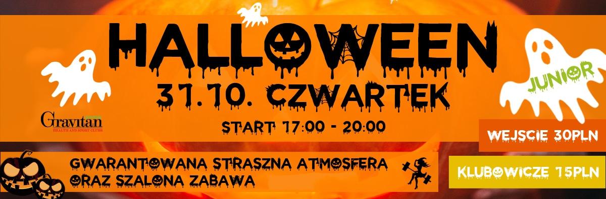 Halloween Junior w Gravitan Targówek 31.10 od 17:00