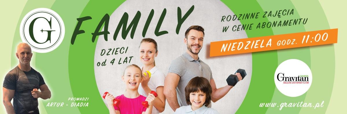 G-Family - rodzinne zajęcia w cenie abonamentu klubowicza