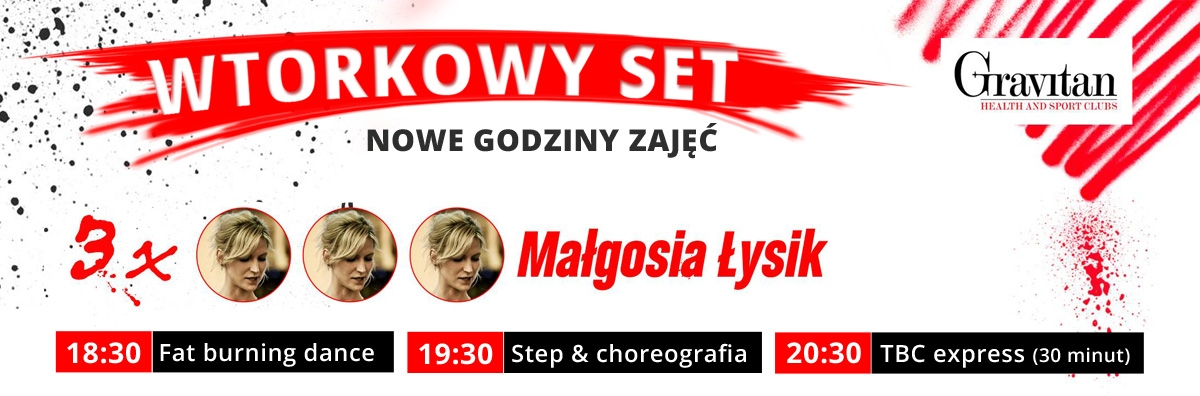 Wtorkowy Set - to zajęcia prowadzone przez Małgosię Łysik