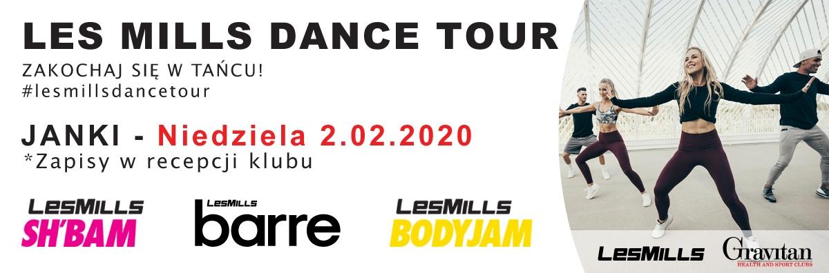 Les Mills Dance Tour 02.02.2020