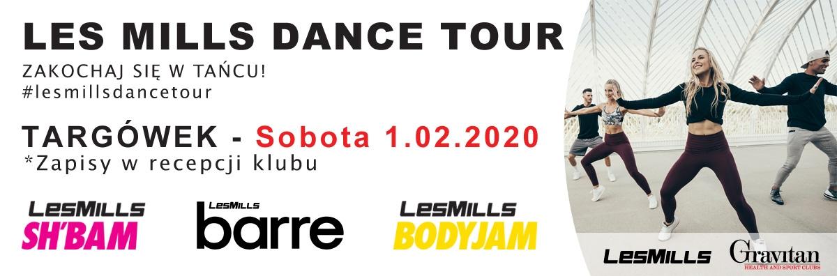Les Mills Dance Tour 01.02.2020